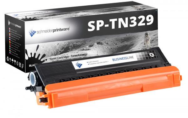 Schneider Printware Toner |30% höhere Leistung| ersetzt Brother TN-329BK