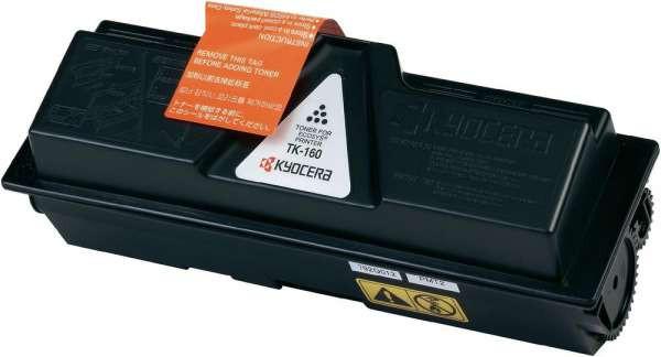Kyocera Toner TK-160 schwarz, 2500 Seiten in weißem Umkarton