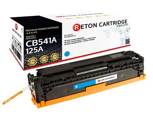 Reton Toner kompatibel zu hp 125A / CB541A cyan