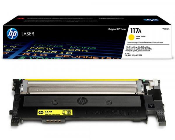 HP 117A Original-Toner W2072A (700 Seiten) gelb