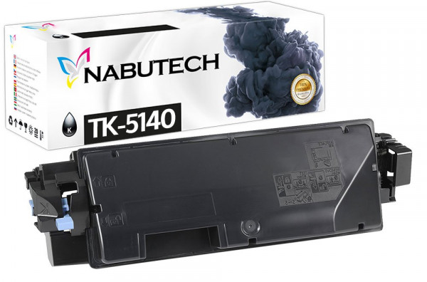 Nabutech Toner +25% mehr Leistung ersetzt Kyocera TK-5140K schwarz