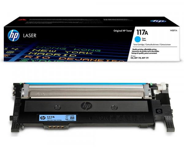 HP 117A Original-Toner W2071A (700 Seiten) cyan