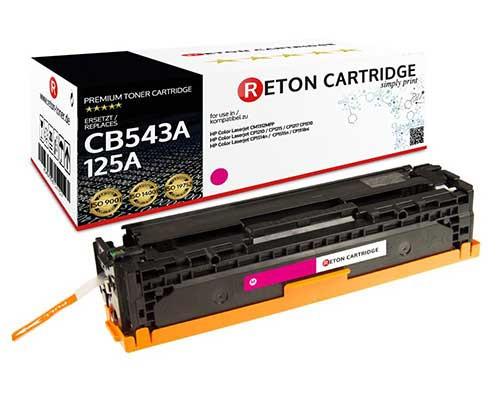 Reton Toner kompatibel zu hp 125A / CB543A magenta