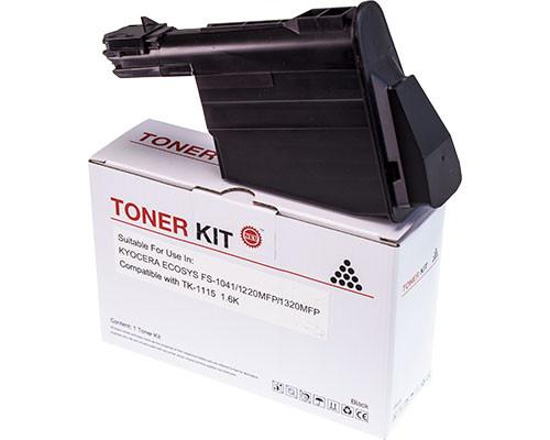 Hochleistungs-Toner +100% mehr Leistung ersetzt Kyocera TK-1115