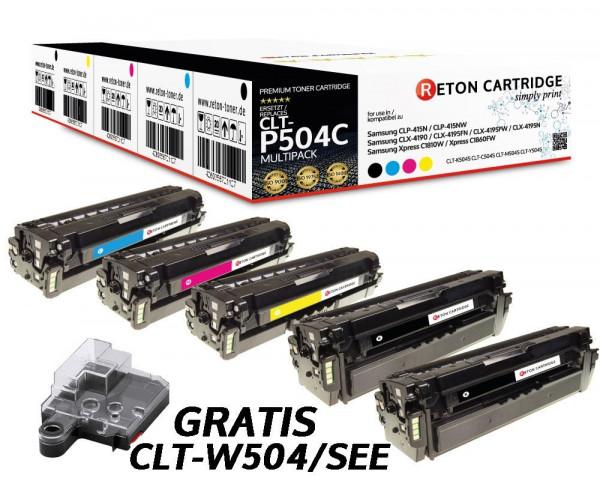 5 Reton Toner ersetzen samsung CLT-P504C