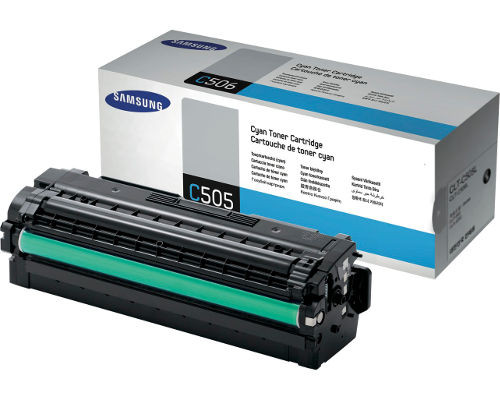 Samsung Original-Toner CLT-C506L/ELS (3.500 Seiten) cyan
