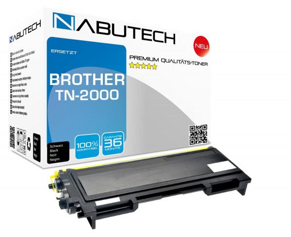 Original Nabutech Toner ersetzt Brother TN-2000 ( 4.000 Seiten )