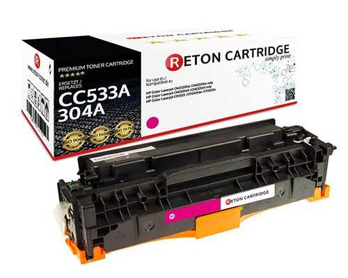 Original Reton Toner kompatibel zu hp 304A / CC533A magenta