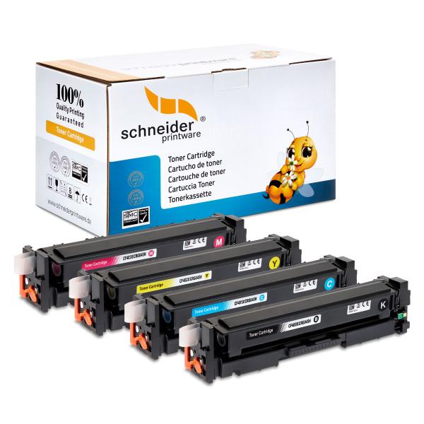 4 Schneiderprintware Toner kompatibel zu HP 203A