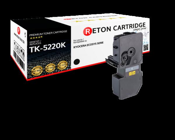 Original Reton Toner   50% höhere Druckleistung   als Ersatz für Kyocera TK-5220K