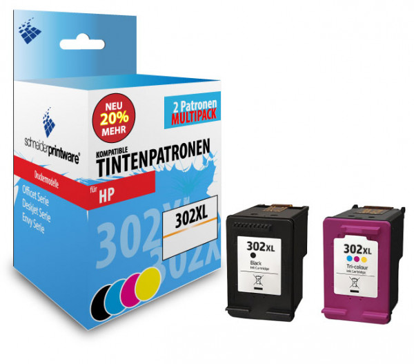 Schneiderprintware 302XL Black & Color