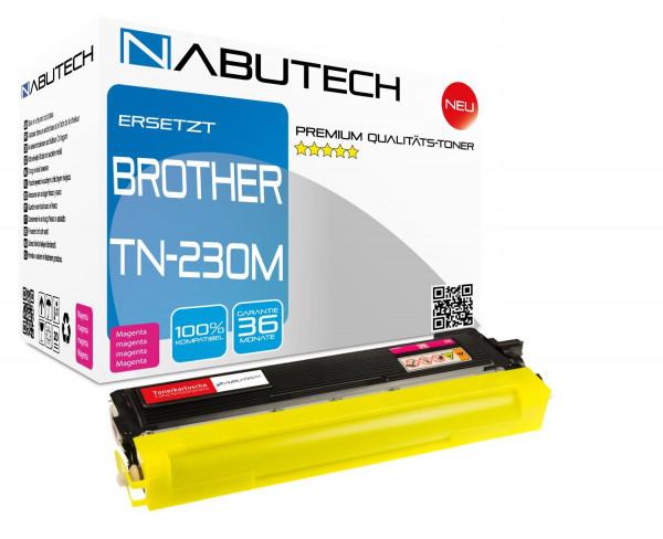 Hochleistungs-Toner +80% mehr Druckleistung ersetzt Brother TN-230M magenta