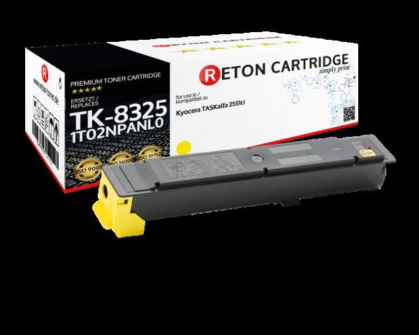Original Reton Toner für Kyocera TK-8325Y
