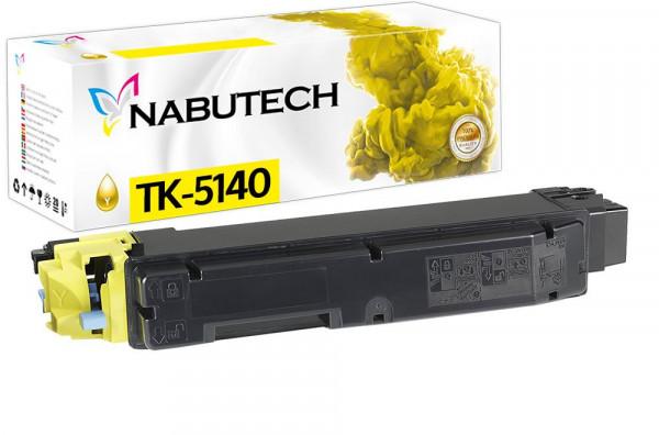 Nabutech Toner +25% mehr Leistung ersetzt Kyocera TK-5140Y gelb