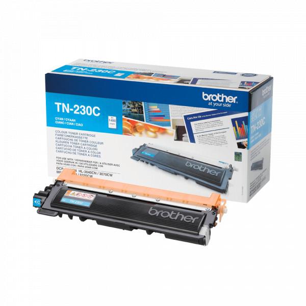 Hochleistungs-Toner +80% mehr Druckleistung ersetzt Brother TN-230C cyan