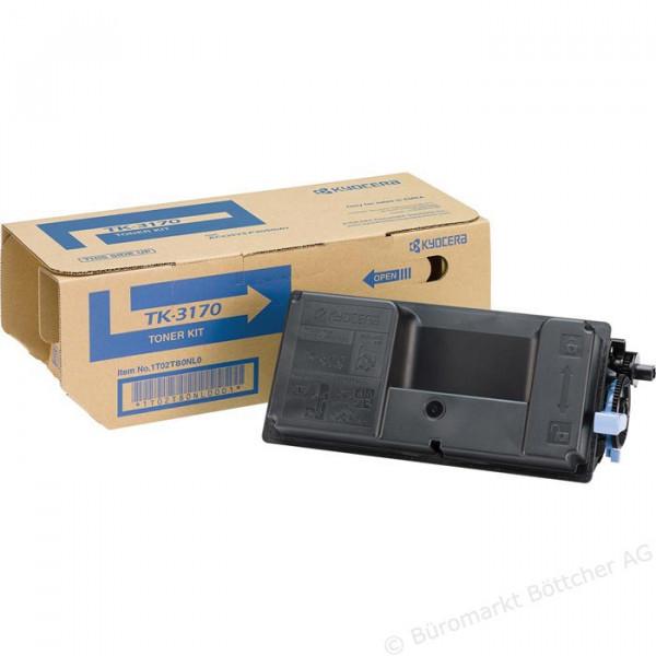 Original Kyocera 1T02T80NL0 / TK-3170 Toner Schwarz