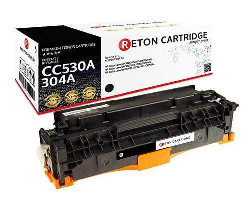 Original Reton Toner kompatibel zu hp 304A / CC530A schwarz