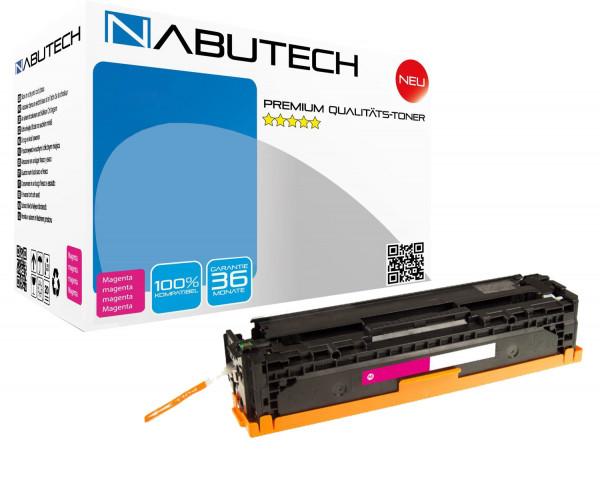NABUTECH Toner +35% mehr Druckleistung ersetzt Canon 718M magenta , 3.700 Seiten