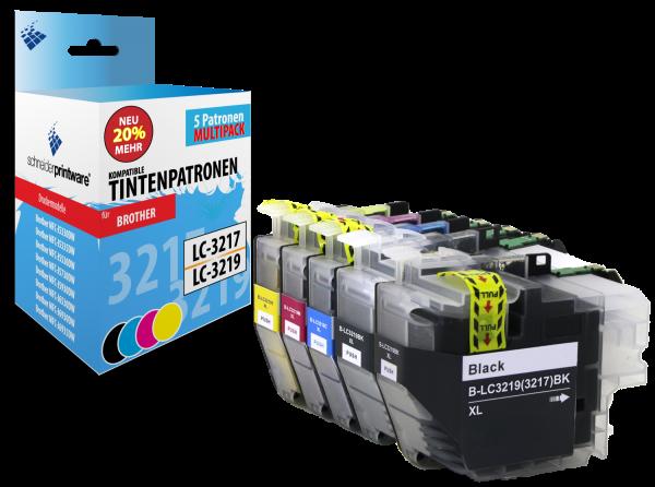 Schneiderprintware LC3219 / LC3217 5er Pack