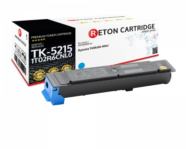 Original Reton Toner für Kyocera TK-5215C