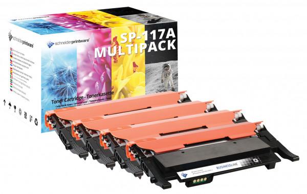 Kompatibel Toner +50% mehr Leistung 117A für HP Color Laser MFP 179fwg -Set