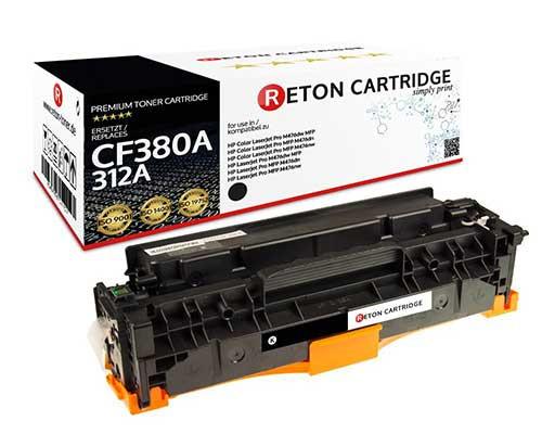 Original Reton Toner kompatibel zu hp 312A / CF380A schwarz