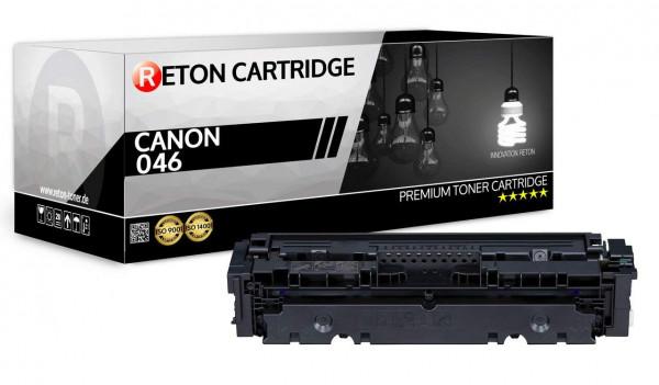 Original Reton Toner ersetzt Canon 046HBK schwarz