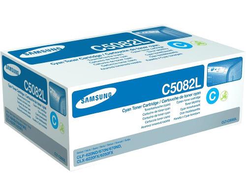Samsung Original-Toner CLT-C5082L (4.000 Seiten) cyan