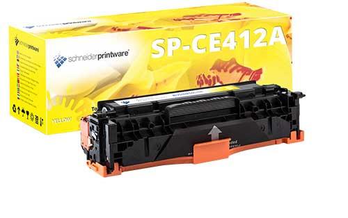 schneiderprintware CE412A Toner gelb