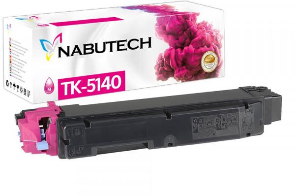 Nabutech Toner +25% mehr Leistung ersetzt Kyocera TK-5140M magenta