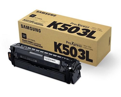 Samsung Original-Toner CLT-K503L (8.000 Seiten) schwarz