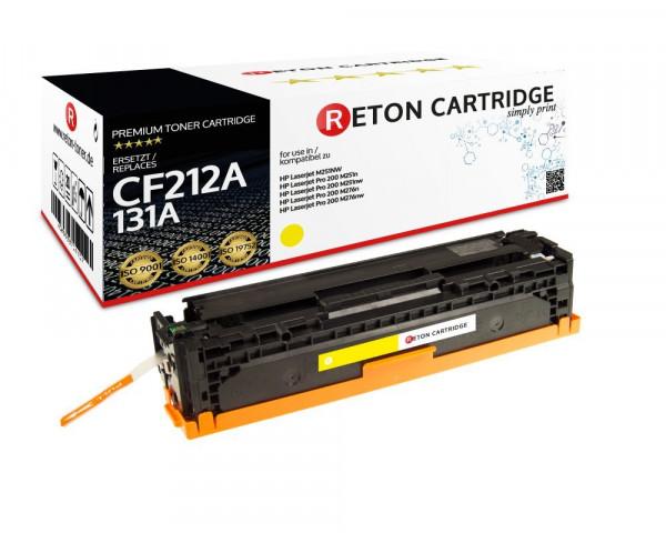 Reton Toner kompatibel zu HP CF212A / HP 131A gelb