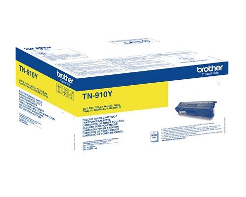 Brother TN-910Y Originaltoner gelb