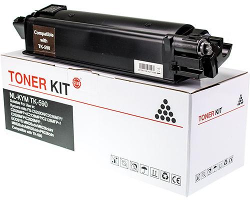 Fabrikneuer Toner ersetzt Kyocera TK-590BK schwarz (7.000 Seiten)