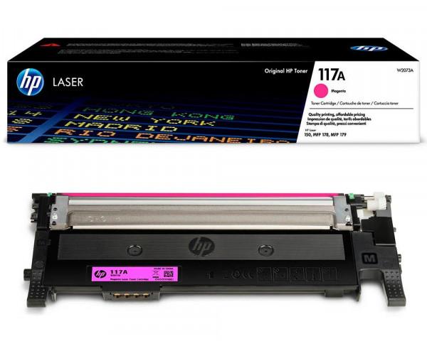 HP 117A Original-Toner W2073A (700 Seiten) magenta