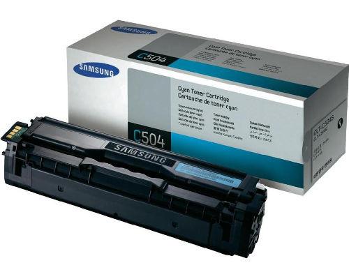 Samsung Original-Toner CLT-C504S (2.500 Seiten) cyan