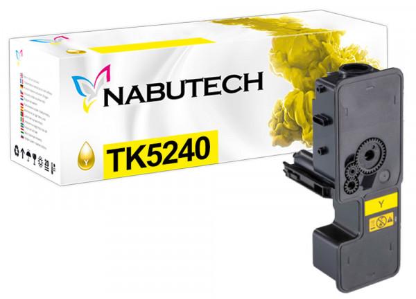 Nabutech Toner ersetzt Kyocera TK-5240Y gelb