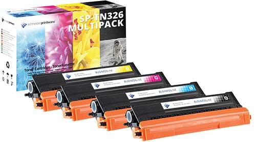 4 Schneider Printware Toner ersetzen Brother TN-326 (24.000 Seiten)