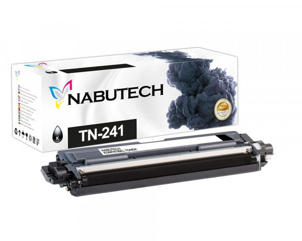 Original Nabutech Toner ersetzt Brother TN-241BK schwarz