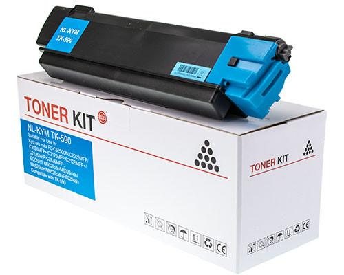 Fabrikneuer Toner ersetzt Kyocera TK-590C cyan (5.000 Seiten)
