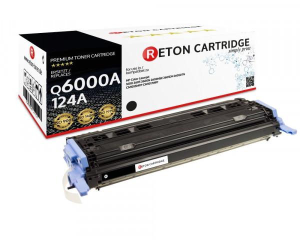 Reton Toner ersetzt HP 124A / Q6000A schwarz