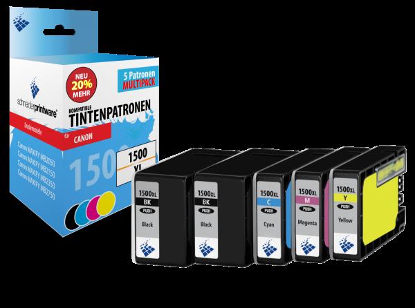 Schneiderprintware PGI-1500XL 5er Pack