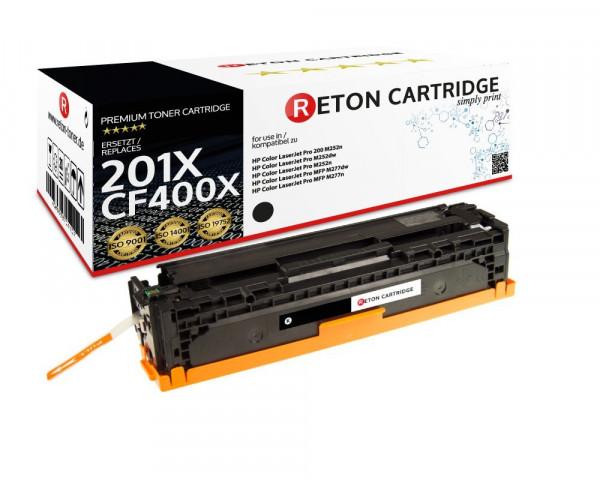 Reton Toner ersetzt HP CF400X schwarz