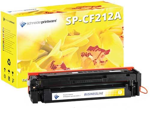 Hochleistungs-Toner +35% höhere Leistung ersetzt HP 131A / CF212A Yellow